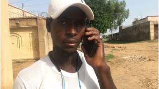 Umar Saminu no fit reach im family via phone so decide to write letter like in di olden days