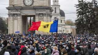 митинг в Кишиневе