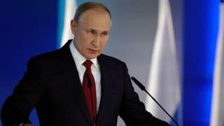 Russian President Vladimir Putin delivers his annual address to the Federal Assembly in Moscow, Russia January 15, 2020