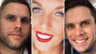 (L-R) Stuart Hill, Becky Dobson, Jason Hill