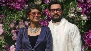 Kiran Rao and Aamir Khan. Photo: March 2019