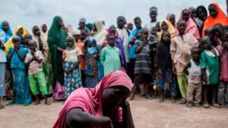 HRW say ova seven million people dey in need of urgent life-saving assistance because of insurgency