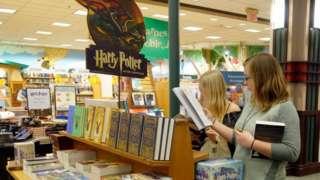 Barnes & Noble book display