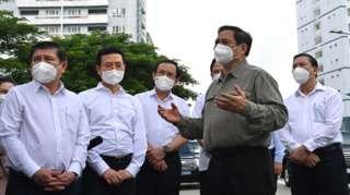 Thủ tướng Phạm Minh Chính thăm TP HCM vào cuối tuần qua.
