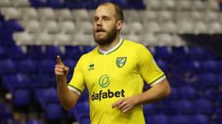 Teemu Pukki's 16th Championship goal of the season was his fifth in the Canaries' last four games