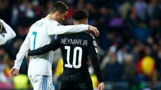 Ronaldo na Neymar