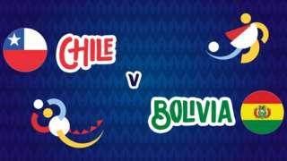 Chile v Bolivia badge graphic