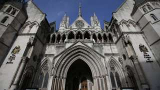 The Royal Courts of Justice which houses the High Court