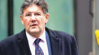 David Noakes arrives at Southwark Crown Court