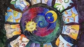Ilustração dos signos do zodíaco