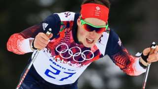 British cross-country skier Andrew Musgrave