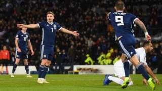 Scotland v Israel