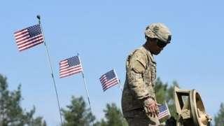 Американские силы в Графенвёре