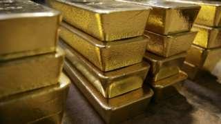 Generic image of gold bars