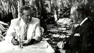 Тито и Меклејн на Брионима