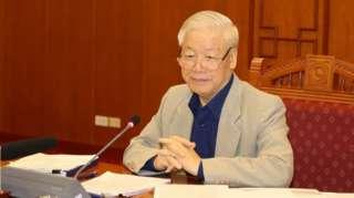 """Tổng bí thư Nguyễn Phú Trọng muốn """"hoàn thành đúng tiến độ"""" điều tra, truy tố, xét xử"""
