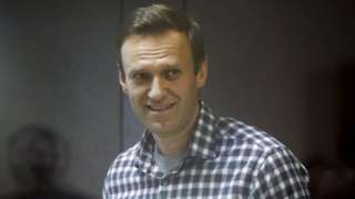 Navalny appears in court in February