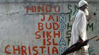 Hindus make up 80% of India's population