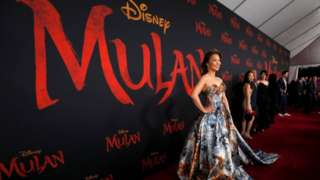 Filming for Mulan took place in China's western region of Xinjiang