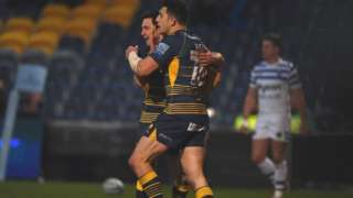 Bryce Heem's second try came 14 minutes into stoppage time