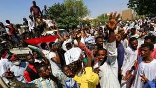 Sudaaniitti mormitoon motummaan ce'umsaa akka diigamuuf gaafatan hiriira bahan