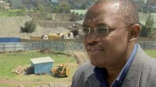 John Kieti campaigned against air pollution in Nairobi