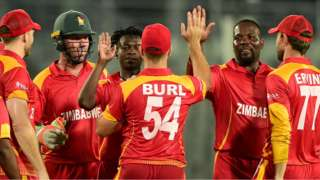Zimbabwe in action last month