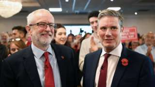 Jeremy Corbyn and Sir Keir Starmer