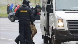Задержание в Беларуси