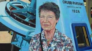 A portrait of Dame Jocelyn Bell-Burnell