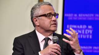 US legal analyst Jeffrey Toobin