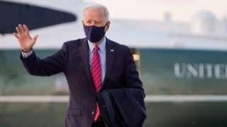 Joe Biden departs Washington for Delaware on 5 February 2021