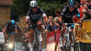 Mark Cavendish and Pete Kennaugh