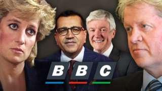 Princess Diana, Martin Bashir, Lord Hall and Earl Spencer
