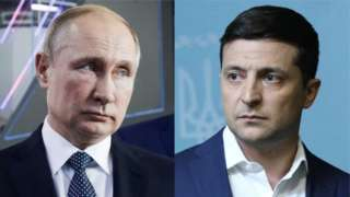 Путин ва Зеленский