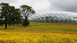 Glasshouse at National Botanical Garden of Wales