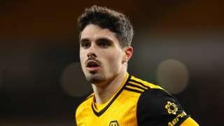 Wolves forward Pedro Neto