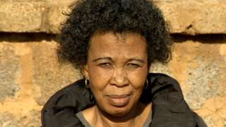 South African Jeanette Mlombo, whose son Martin died last month at Sebokeng Hospital at the age of 30.