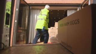 Parcels are being delivered across the Armagh, Banbridge and Craigavon area