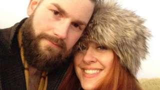 Amanda Faulkiner-Farrow and husband James