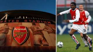 Arsenal Stadium and Kanu Knwakwo