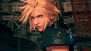 Cloud from FF7 Remake