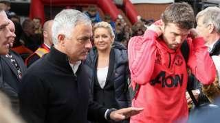 Mourinho and Carrick