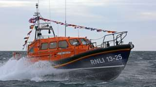 Leverburgh's lifeboat