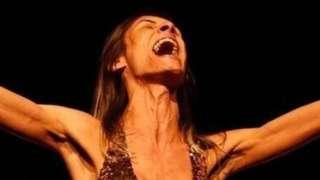 Renata Carvalho in the play The Gospel According to Jesus, Queen of Heaven