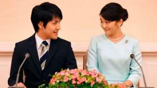 Princess Mako and Kei Komuro announced their engagement in 2017