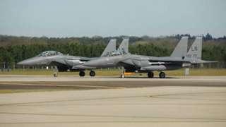 F15 fighter jets