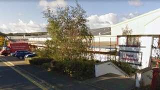 Isle of Man Post Office headquarters in Braddan