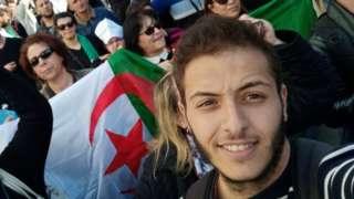 Algerian student Yanis Cherrou