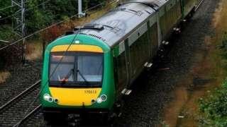 London Midland train